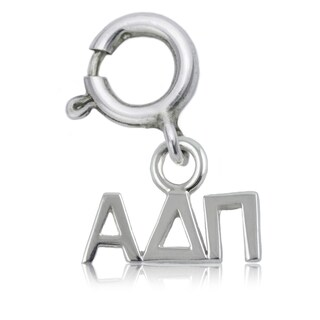 Alpha Delta Pi Sterling Silver Charm