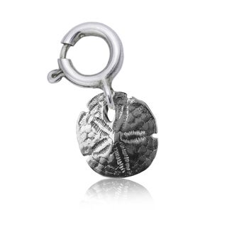 Sterling Silver Sand Dollar Shell Charm
