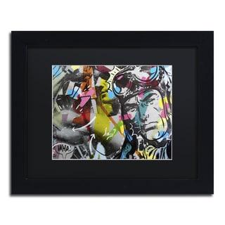 Dan Monteavaro 'Strongman' Black Matte, Black Framed Wall Art