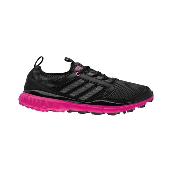 Adidas Women's Adistar Climacool Black/Carbon/Bahia Magenta Golf Shoes