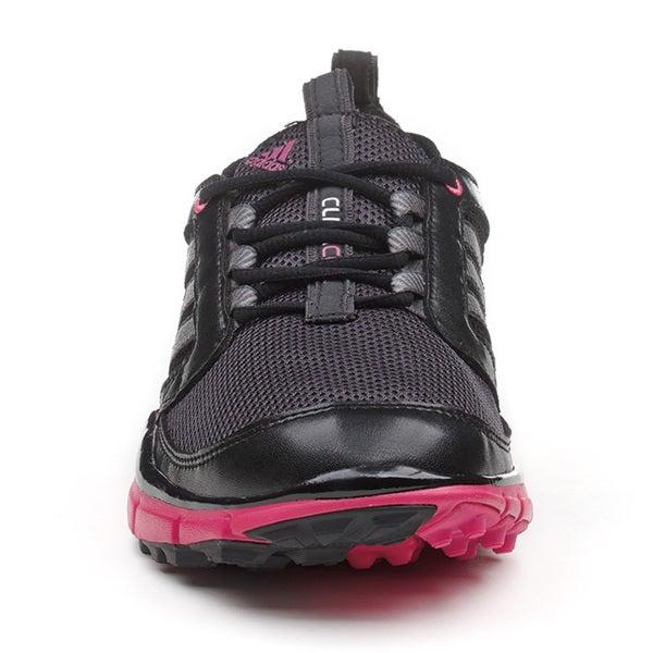 Adidas Women's Adistar Climacool Black/Carbon/Bahia Magenta Golf ...