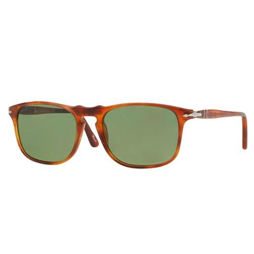 a529a2f438fdb Persol Men  x27 s PO3059S Plastic Square Sunglasses - Tortoise - Large