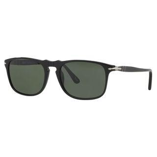 Persol Men's PO3059S Plastic Square Sunglasses