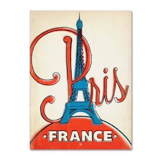 Anderson Design Group 'Paris, France II' Canvas Art