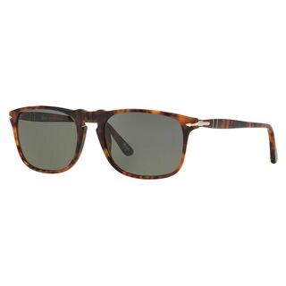 Persol Men's PO3059S Plastic Square Polarized Sunglasses