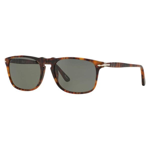 b3f107f8dd Persol Men  x27 s PO3059S Plastic Square Polarized Sunglasses - Large
