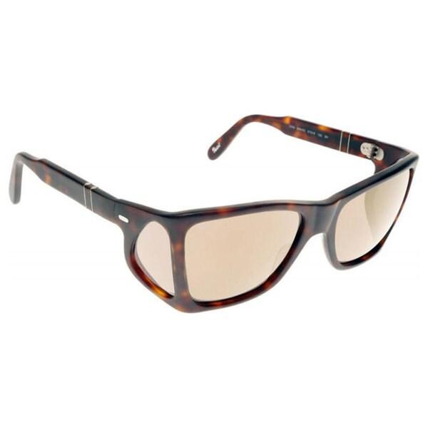 62c52d37c2 Persol Men  x27 s PO0009 Plastic Irregular Sunglasses - Tortoise - Large