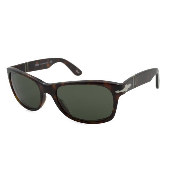 b7fa624d993 Persol Men  x27 s PO2953S Plastic Square Sunglasses - Tortoise - Large