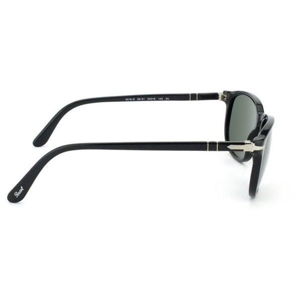 7d5ea2aef5 Shop Persol Men s PO3019S Plastic Square Sunglasses - Black - Large ...