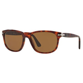 Persol Women's PO2989S Plastic Square Polarized Sunglasses
