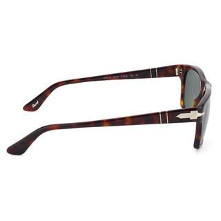 Persol Men's PO3037S Plastic Square Sunglasses