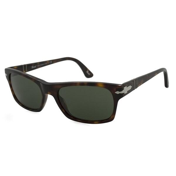 b06da4534046a Persol Men  x27 s PO3037S Plastic Square Sunglasses - Tortoise - Large