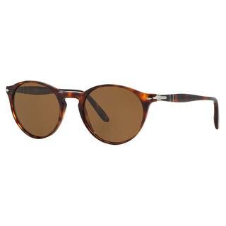 Persol Men's PO3092SM Plastic Phantos Polarized Sunglasses