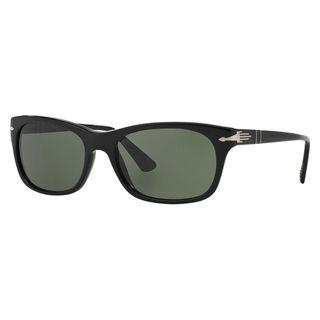 Persol Men's PO3099S Plastic Square Sunglasses