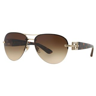 Versace Women's VE2159B Plastic Pilot Sunglasses