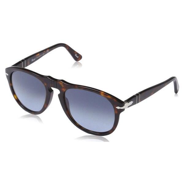 e92fb17b9b Shop Persol Men s PO0649 Plastic Pilot Sunglasses - Tortoise - Large ...