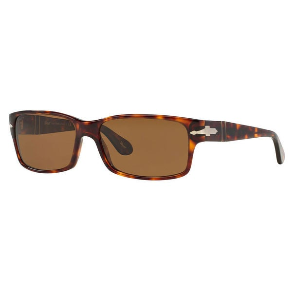 bf4ee18610 Persol Men  x27 s PO2803S Plastic Rectangle Polarized Sunglasses - Tortoise  - Large