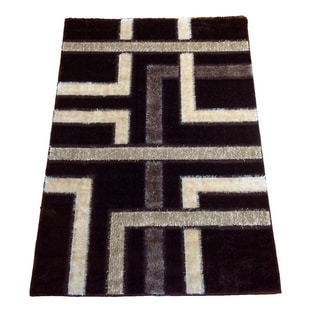 Rya Extra Plush 1060 Brown Area Rug