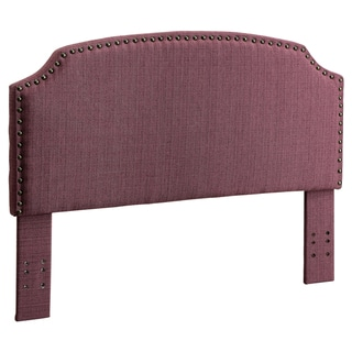 Furniture of America Emira 2-piece Flax Full/Queen Headboard and Bench Set