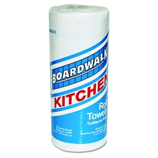 Boardwalk White Perforated Paper Towel Rolls (Pack of 30 Rolls)