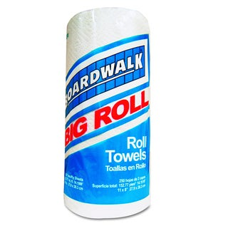 Boardwalk White Perforated Paper Towel Roll (Pack of 12 Rolls)