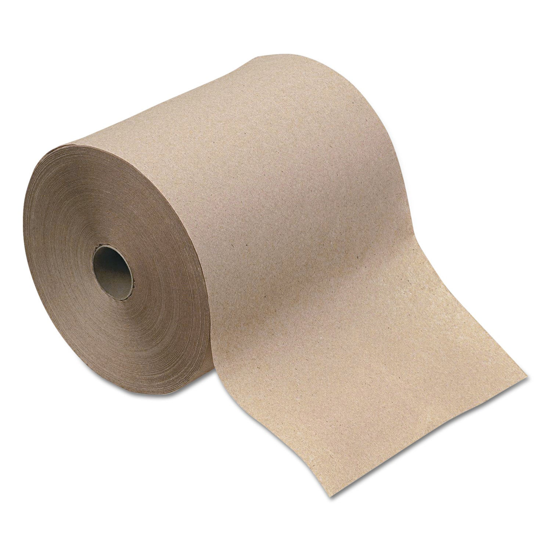 Boardwalk Kraft Hardwound Paper Towels (Pack of 12 Rolls)...