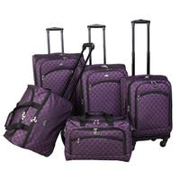 American Flyer Madrid 5-piece Expandable Spinner Luggage Set