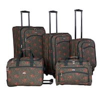 American Flyer Budapest 5-piece Expandable Spinner Luggage Set