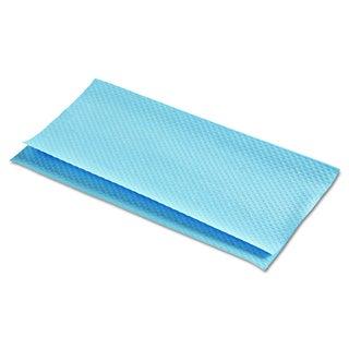 Boardwalk Blue Folded Paper Towels for Windshield Towels (8 Packs of 300)