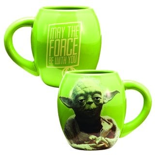 Star Wars Yoda 18-ounce Ceramic Oval Mug