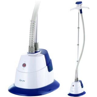 Salav GS06-DJ Blue Performance Series 1500-watt Garment Steamer with 360-degree Swivel Folding Hanger