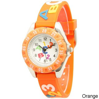 Olivia Pratt Children's ABCs and 123s Silicone Strap Watch (More options available)