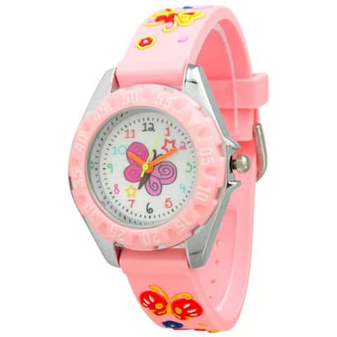 Olivia Pratt Children's Colorful Butterfly Watch