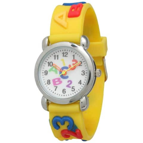 Olivia Pratt Kids' ABCs Watch
