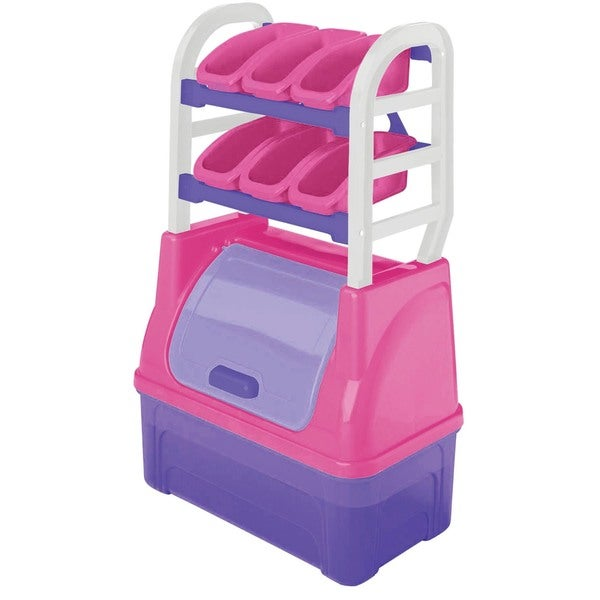 American Plastic Toys Girl's Toy Box and Organizer