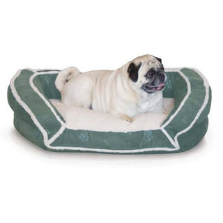 K and H Pet Products Deluxe Bolster Couch Pet Bed