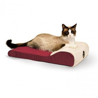 K and H Pet Products Ultra Memory Chaise Pet Lounger