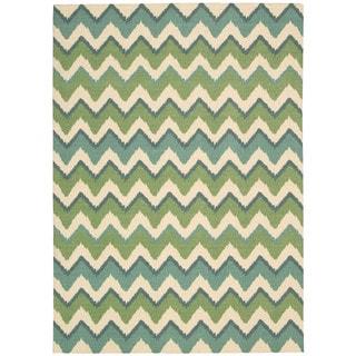 Nourison Vista Blue Rug (8' x 10')