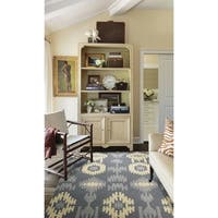 Barclay Butera Prism Pebble Area Rug by Nourison - 5'3 x 7'5