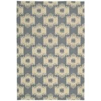 Barclay Butera Prism Slate Area Rug by Nourison (5'3 x 7'5)