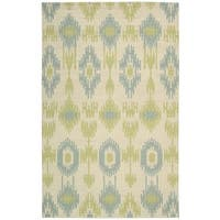 Barclay Butera Prism Honeydew Area Rug by Nourison - 5'3 x 7'5