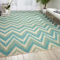 Barclay Butera Prism Pacific Area Rug by Nourison (5'3 x 7'5)