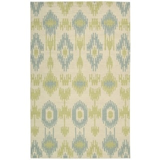 Barclay Butera Prism Honeydew Area Rug by Nourison (7'9 x 10'10)