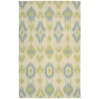 Barclay Butera Prism Honeydew Area Rug by Nourison - 7'9 x 10'10