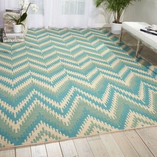 Barclay Butera Prism Pacific Area Rug by Nourison (7'9 x 10'10)