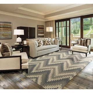 Barclay Butera Prism Sand Dune Area Rug by Nourison (7'9 x 10'10)