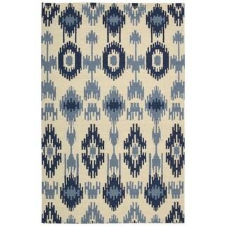 Barclay Butera Prism Indigo Area Rug by Nourison (7'9 x 10'10)