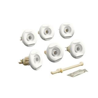 Kohler Flexjet Whirlpool Trim Kit in White