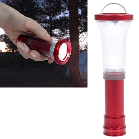 2-in-1 LED Focus Adjustable Flashlight Lantern by Stalwart