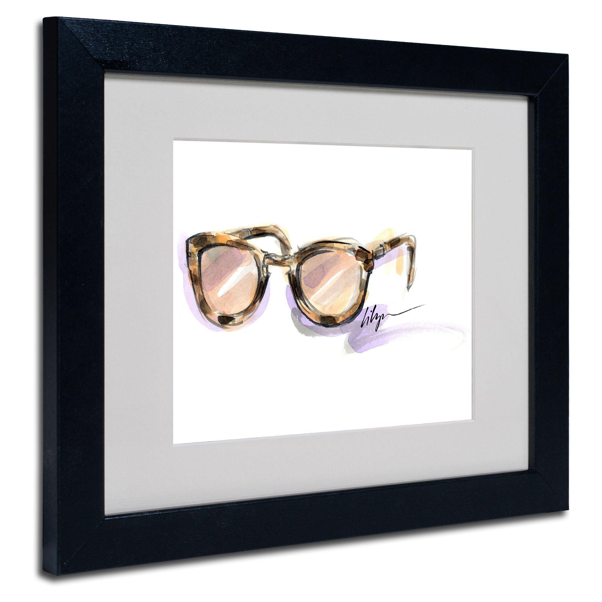 Trademark Jennifer Lilya 'Always Sunny' White Matte, Blac...